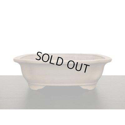 画像1: 常滑鉢 「中野行山」 烏泥外縁下紐木瓜鉢