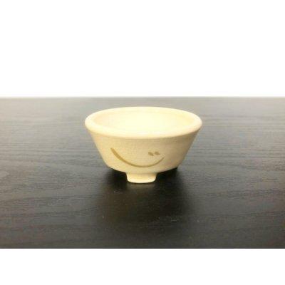 画像1: 沈壽官窯小品盆栽鉢 薩摩焼/薩摩 「金のじ」 盆器外縁
