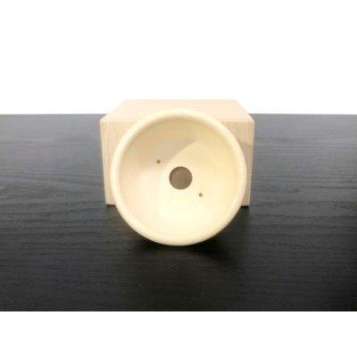画像4: 沈壽官窯小品盆栽鉢 薩摩焼/薩摩 「金のじ」 盆器外縁
