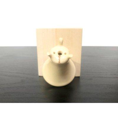 画像3: 沈壽官窯小品盆栽鉢 薩摩焼/薩摩 「銀めだか」 盆器下方