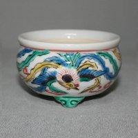 九谷焼(瑛生)鳳凰文様2号丸鉢
